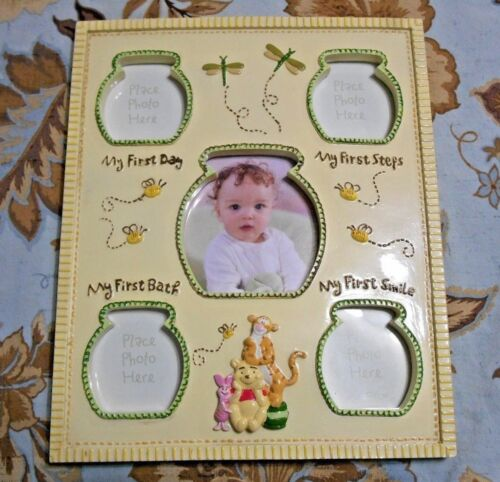 Disney Winnie The Pooh Baby First Desk Picture Frame