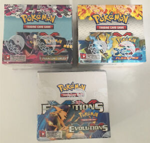 Pokemon Booster Boxes English Factory Sealed 100% Authentic