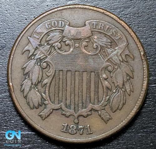 1871 2 Cent Piece  --  MAKE US AN OFFER!  #B2994