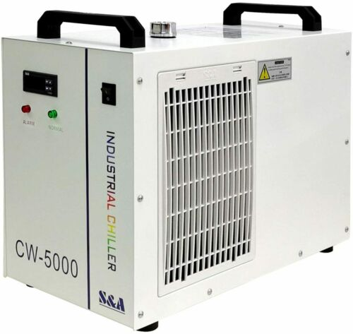 S&A Genuine CW-5000 DG 110V Water Chiller Cool 80W 100W CO2 Laser Tube New