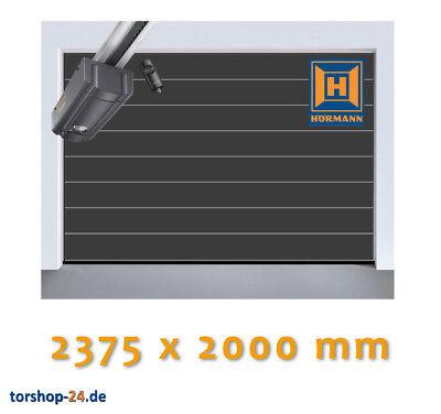 Hörmann Sektionaltor LPU 42 2375 x 2000 mm anthrazit Antrieb Garagentor Rolltor