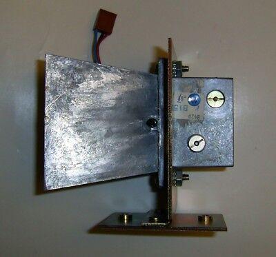 X-band Transceivergunnplexor With Large Horn Antenna Bracket By Ck Systems