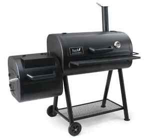 BBQ SMOKER - Hark Tri Fire Offset Smoker - FREE DELIVERY