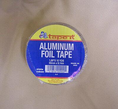 3 Pcs Tapeit Aluminum Foil Adhesive Tape 2x30 1.89 Wide 10 Yd Heat Rf Shield