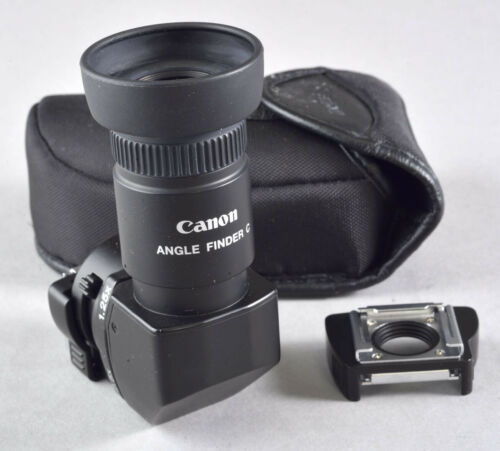 Canon angle Finder C Excellent For EOS Cameras