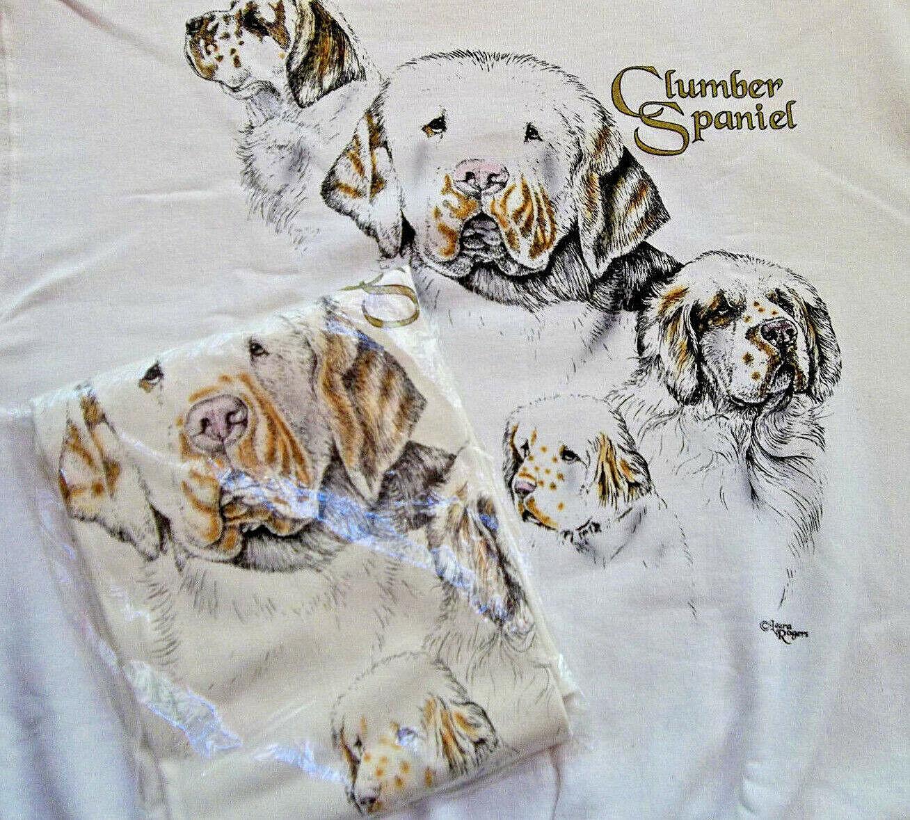 Clumber Spaniel Sweatshirt   Tshirt Set Size XL  46  48