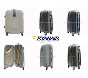 TROLLEY-RYANAIR-ABS-RIGIDO-4-RUOTE-BAGAGLIO-A-MANO-CM-55x40x20-TROLLEY-CABINA