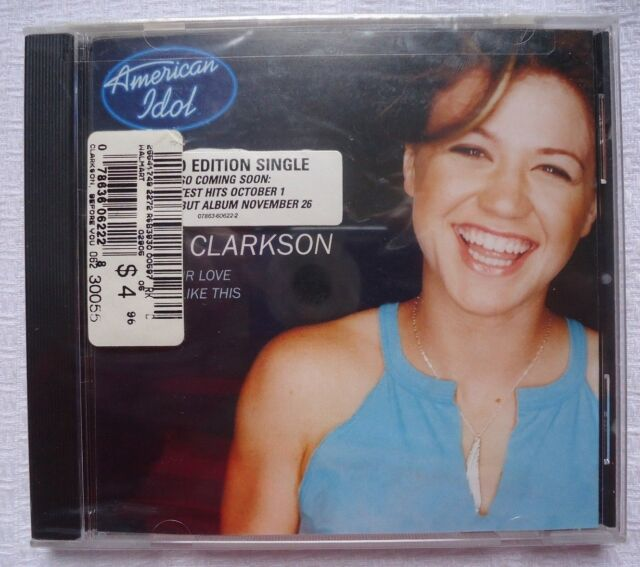 Before Your Love/A Moment Like This [Single] [Single] by Kelly Clarkson CD Idol