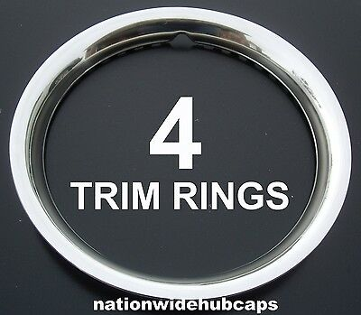 "1998-2002 Ford Crown Victoria P71 16"" Wheel Trim Rings Beauty Rims Hubcaps Bands for sale  Shipping to Canada"