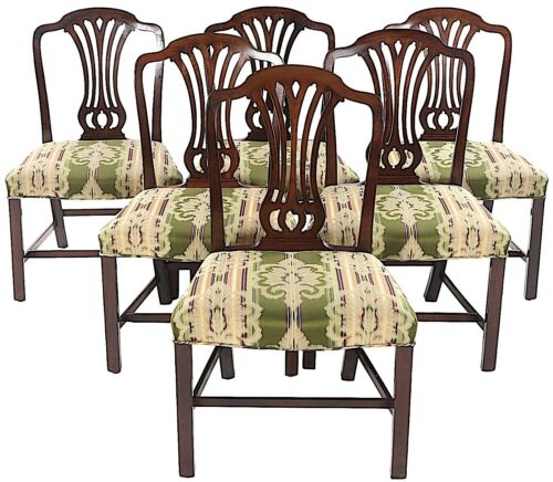 18th Century George III Dining Chairs - Set of Six