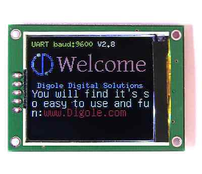 1.8 Serialuarti2cspi True Color Tft Lcd 160x128 Display Module For Arduino