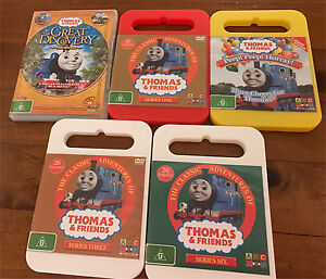 5 Thomas the tank  DVDs Hassall Grove Blacktown Area Preview