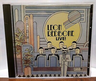 Leon Redbone - Live! (CD)  Leon Redbone Live