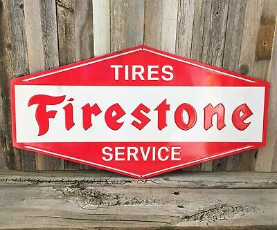 Firestone Tire Service Tires Embossed Large 26