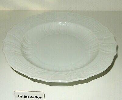 Melitta Friesland Jeverland weiß Suppenteller tiefe Teller 4 Stk W 23 cm.