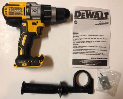 """NEW DEWALT DCD996B 20V 20 Volt Max XR Li-Ion 1/2"""" Hammer Dri"""