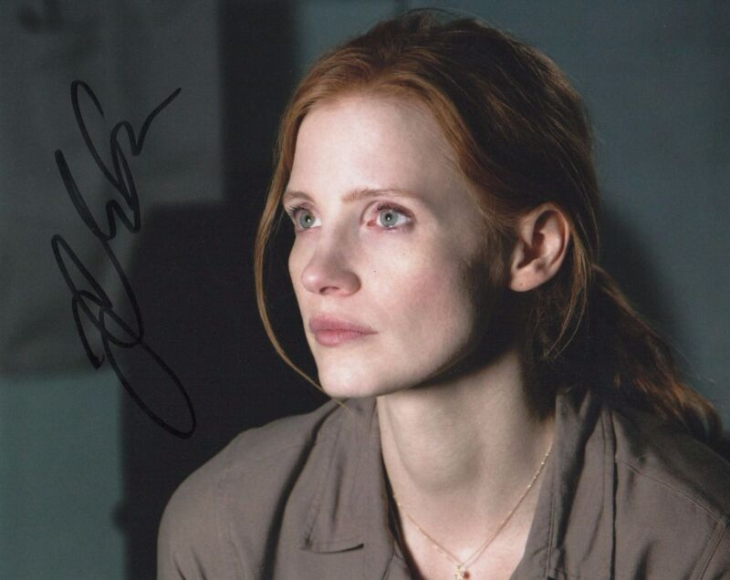 Jessica Chastain Sexy Autographed Signed 8x10 Photo COA #1
