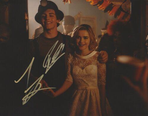 Kiernan Shipka Ross Lynch Chilling Sabrina Autographed Signed 8x10 Photo COA A1