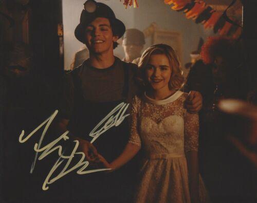 Kiernan Shipka Ross Lynch Chilling Sabrina Autographed Signed 8x10 Photo COA A3