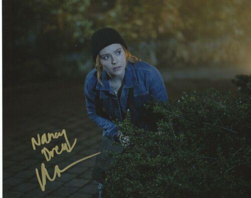 Kennedy McMann Nancy Drew Autographed Signed 8x10 Photo COA 2019-67
