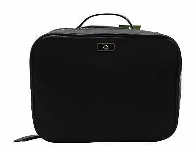 Kate Spade New York Women's Large Dawn Travel Cosmetic Case Bag - Black