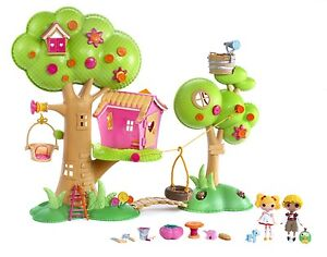 Lalaloopsy Treehouse & Mini Dolls Bundle Excellent condition!
