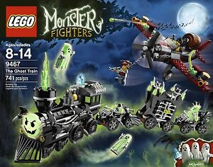 BRAND NEW SEALED LEGO 9467 MONSTER FIGHTERS THE GHOST TRAIN HALLOWEEN RETIRED
