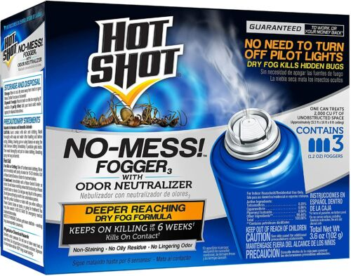 Bug Bomb Insect Fogger 1-Pack Kill Mosquitoes Spiders Fleas Flies Killer No Mess