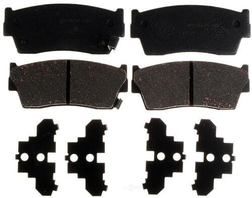 Disc Brake Pad Set-Ceramic Disc Brake Pad Front ACDelco Advantage 14D1367CH