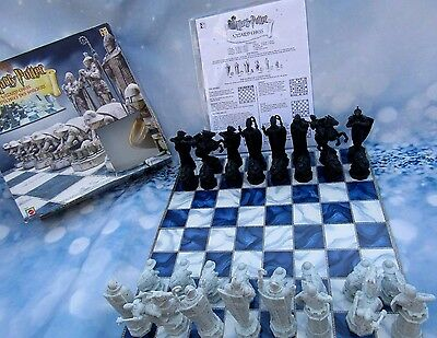 Harry Potter Wizard Chess Board Game Mattel 2002