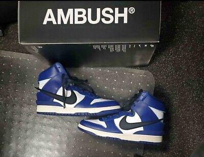 Size 11.5 - Nike Dunk High x Ambush Deep Royal