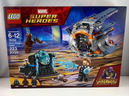 LEGO Marvel Super Heroes 76102 AVENGERS INFINITY WAR THOR'S