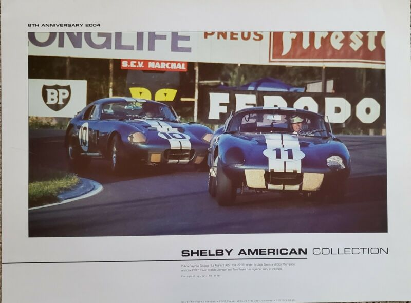 Carroll shelby collectibles