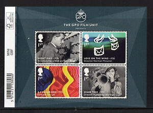 GREAT-BRITAIN-2014-GREAT-BRITISH-FILM-MINIATURE-SHEET-WITH-BARCODE-UM-MNH