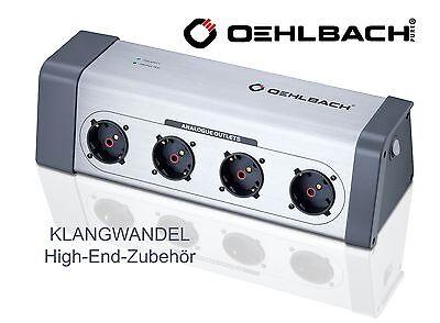 OEHLBACH Powersocket 908 / High-End-Steckdosenleiste / 13040 / Power Socket Neu