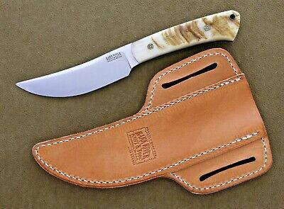 Bark River Upland Special knife, Big Horn Sheep, Mosaic Pins. 1st Production Run