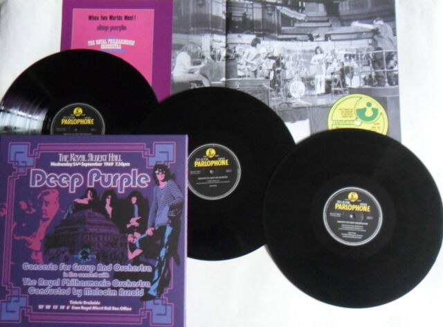 LP DEEP PURPLE Concerto For Group.. (3LP-Box) Parlophone VSHVL 767 -STILL SEALED