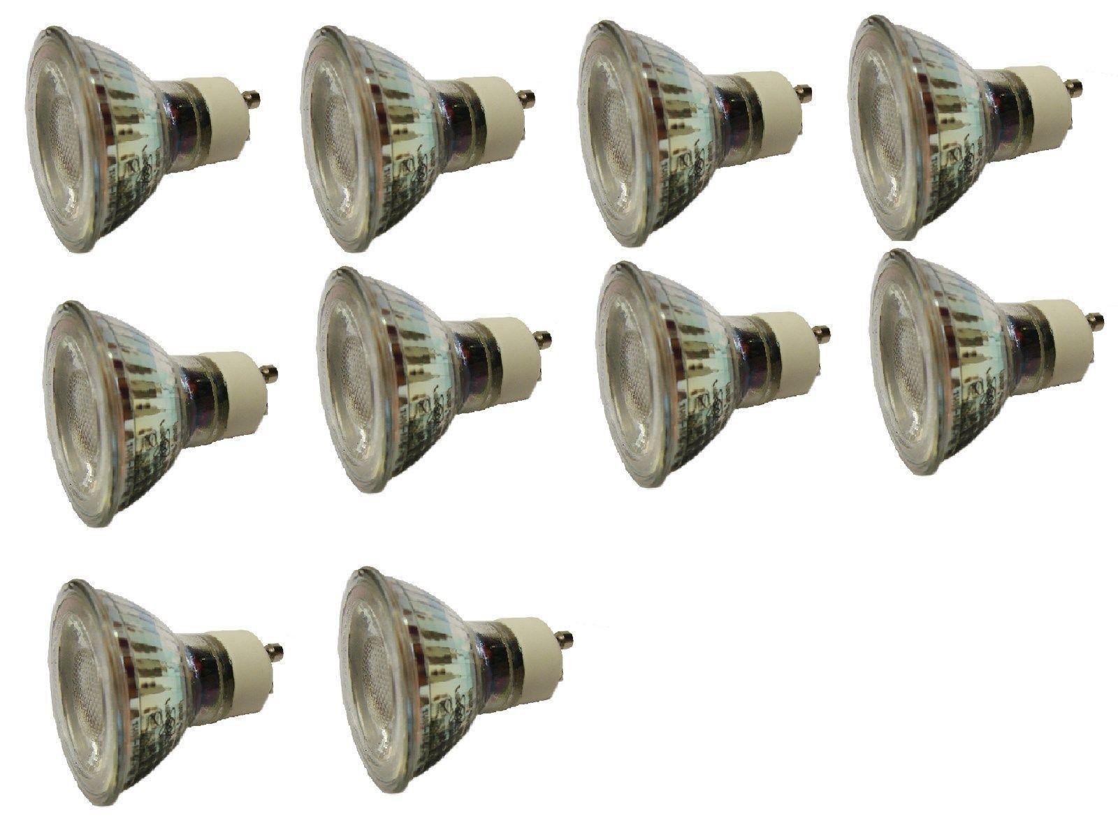 10 x Briloner Birne Led Leuchtmittel Lampe Leuchten Warmweiss A+ GU10 6 Watt