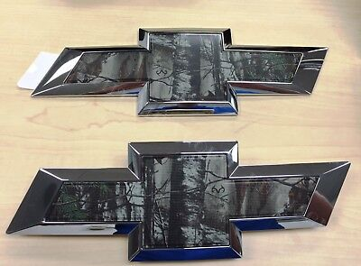 2016-2018 Silverado REALTREE® Bowtie Package Grille & Tailgate 84244765 OEM
