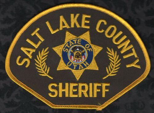 👀😍😂👌  Salt Lake County Sheriff Shoulder Patch