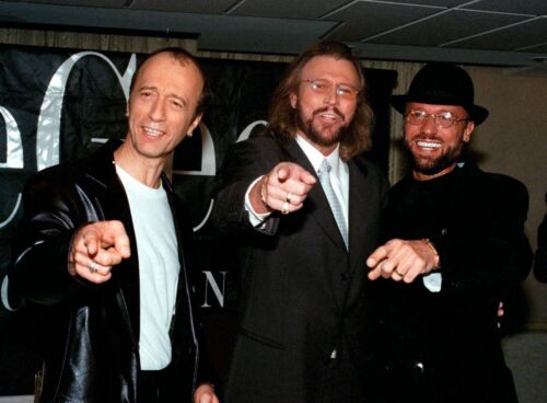 THE BEE GEES - MUSIC PHOTO #E-139
