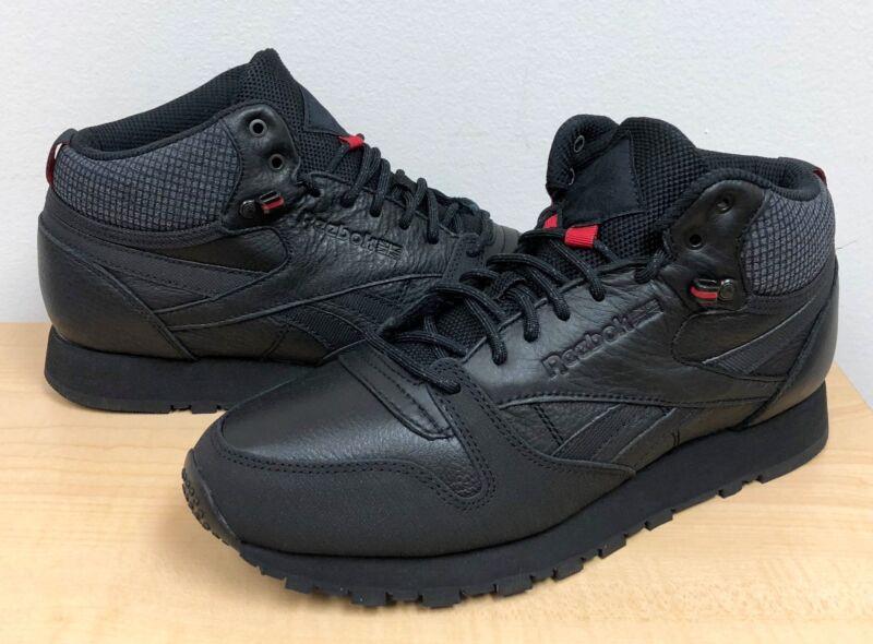 Men/'s Shoes BS7882 Reebok Classic Leather Mid Gtx-Thin BEIGE//PAPERWHITE-GUM