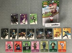 Amiibo Cards : Zelda/Animal Crossing_For Switch/Wii U/3DS