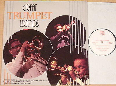 GREAT TRUMPET LEGENDS - D.Byrd, F.Hubbard, H.McGhee, C.Terry (JAZZ LIFE / LP m-)