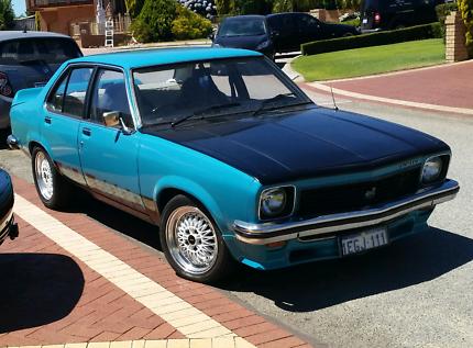 Holden Torana LX 1977 SLR 5000 style