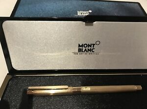 Mont Blanc Gold Pen