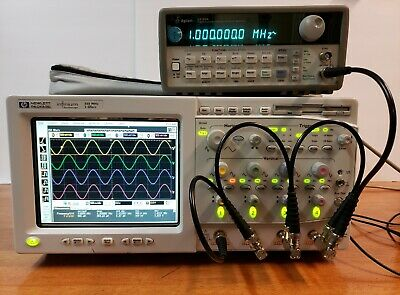Hp Agilent Keysight Infinium Oscilloscope 54825a 4-channels 500mhz 2gsas