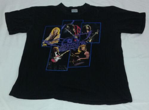 Vintage 1990 Aerosmith Pump Tour Concert Band Tshirt Size XL