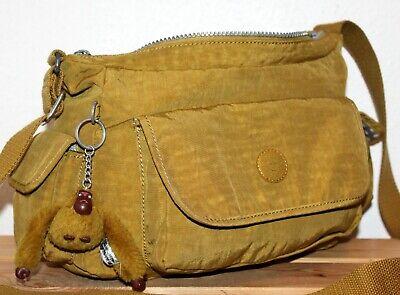 Kipling Bucket Satchel/Messenger/Shoulder Bag/Tote/Purse + Monkey Keyring/Charm