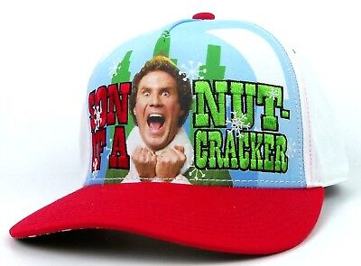 Elf the movie Son Of A Nutcracker Snapback Cap, Hat - Elf Cap